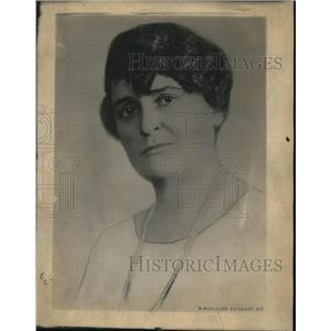 1930 Press Photo Miss Virginia Murray of Bureau of crime prevention Women's Div