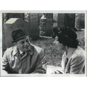1967 Press Photo Martin Balsam & Maureen Stapleton in Among Paths to Eden