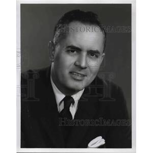 1958 Press Photo Dr Bergen Evans on Last Word - orp15073