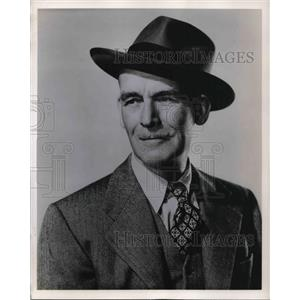 1949 Press Photo James Jimmy Gleason in Miss Grant Takes Richmond - orp14179
