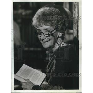 1969 Press Photo Mildred Dunnock stars on The FBI TV Series - orp13678