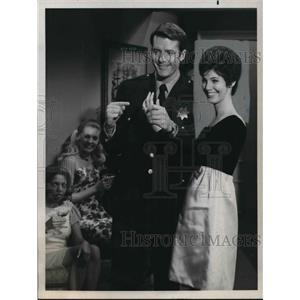 1970 Press Photo Linda Galloway in Tom Dayton is Loose Among Us