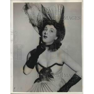 Press Photo Ethel Gilbert stars on Those Good Old Days - orp14200