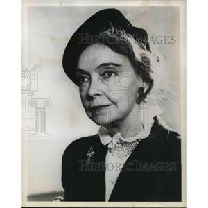 1965 Press Photo Lilian Gish in The Birth of A Nation - orp13885