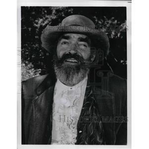 1979 Press Photo Jack Elam in Struck by Lightening - orp14501