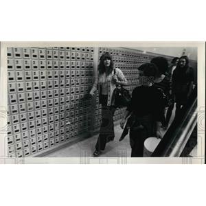 1973 Press Photo Jane Fonda at Lewis & Clark College - orp15004