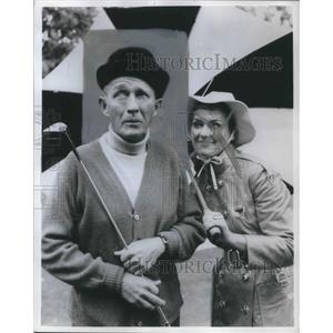 1970 Press Photo Bing Crosby, Golf at Pebble Beach - orp13232