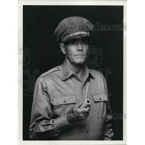 1976 Press Photo Henry Fonda playing a general - orp14594