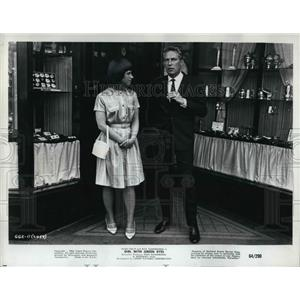 1965 Press Photo Peter Finch in Girl with Green Eyes - orp14382