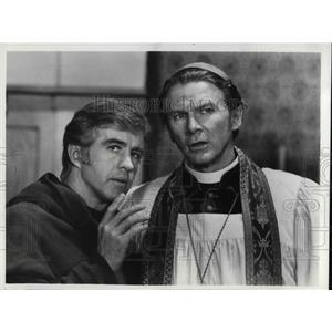 1973 Press Photo Steve Forrest in Chant of Silence - orp14272
