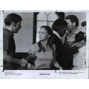 1979 Press Photo Ron Leibman and Sally Field as Norma Rae in Norma Rae