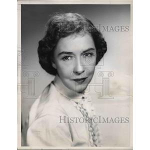 1954 Press Photo Dorothy Gish stars on United States Steel Hour - orp13874