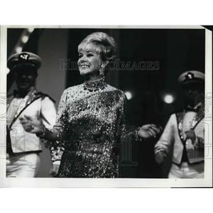 1969 Press Photo Alice Faye in The Hollywood Palace - orp14307