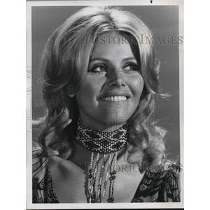 1970 Press Photo Britt Ekland on Kraft Music Hall - orp14496