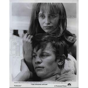 1968 Press Photo Susan George and Michael York star in The Strange Affair