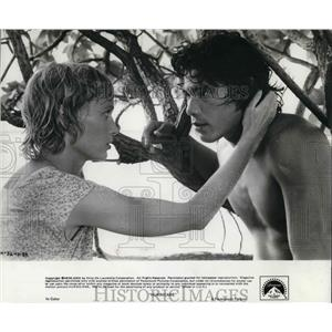 1979 Press Photo Mia Farrow in Hurricane - orp14295