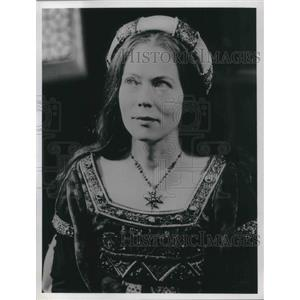1971 Press Photo Annette Crosbie plays in The Six Wives of Henry the VIII