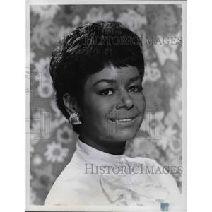 1968 Press Photo Gail Fisher - orp14817
