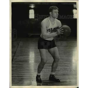 "1932 Photo William ""Dutch"" Ferring Purdue College Basketball Team"