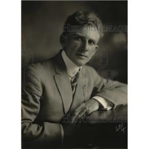 1923 Press Photo Frank Erlinger of Balboa characters