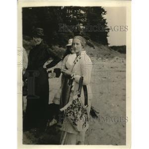 1918 Photo J. Pierpoint Morgan's Granddaughter Miss Mabel Satterlee