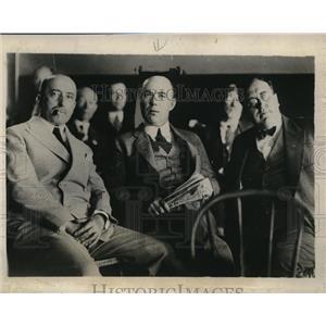 1928 Press Photo Rayon strike Elizabethtown TN EF McGrace, Geo Berry, Wm Kelly