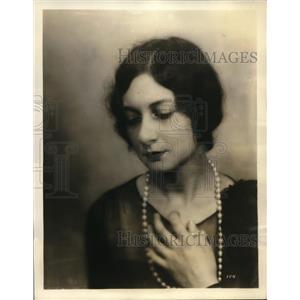 1930 Vintage Photo Russian Contralto Celia Branz NBC Publicity Still