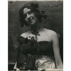 1913 Press Photo Miss Celia Marguerite Ziwillinger