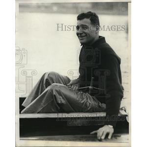 1930 Press Photo Head coach CJ Whiteside of Harvard Univ crew - nes22807