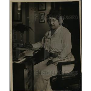 1919 Press Photo Mrs Etthel Parks Democratic Natl Committee finance dept