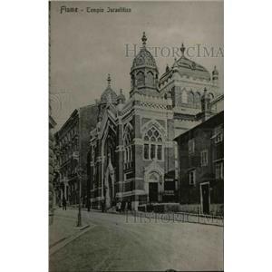 1919 Press Photo Flume Temple Israelite in Hungary