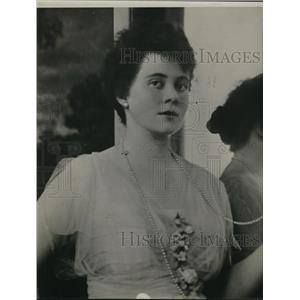 1915 Press Photo Mrs Catherine Barker Spaulding at Wedding