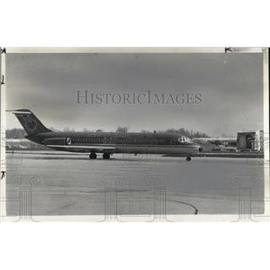 1981 Press Photo New York Airlines at Hopkins International Air Port