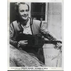 1950 Press Photo Tito Gobbi in The Barber of Seville