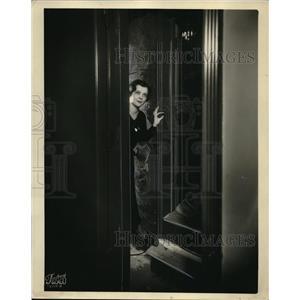 1930 Press Photo Irene Ehredt of Chicago NBC Studios