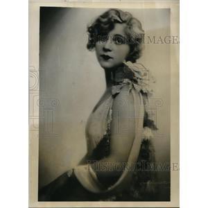 1931 Press Photo Lotte Huzzarek Hungarian actress