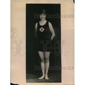 1923 Vintage Photo Dorothy Hoag Iowa State Awarded Queen Porpoises