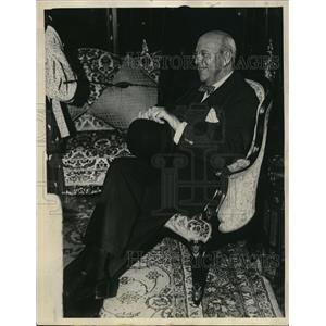 1931 Press Photo James Stillman, Millionaire Banker,Sails for Europe