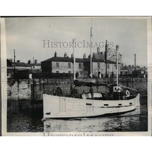 1946 Press Photo Lowestock England the 46 foot VIctory manned by former GI's