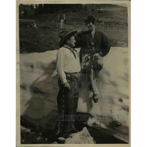 1927 Press Photo Grace Wilcox Miss Arcanum with Regent Harold C. Knoeppel