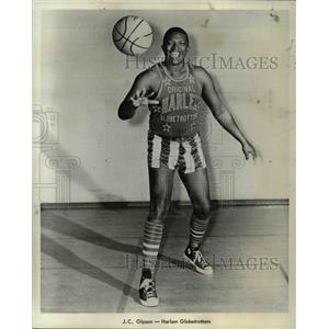 1970 Press Photo JC Gipson of the Harlem Globe Trotters.