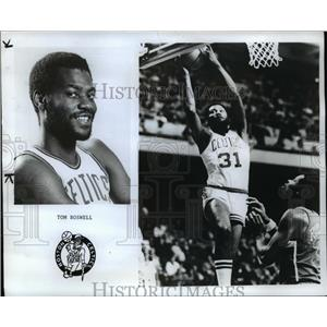 1979 Press Photo Tom Boswell Denver Nuggets Suspended