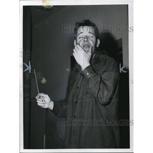 1958 Press Photo Robert Shaw American Actor
