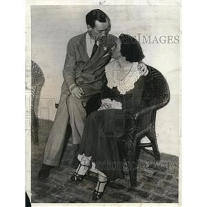 1936 Press Photo Mr. and Mrs. Francis O'Toole