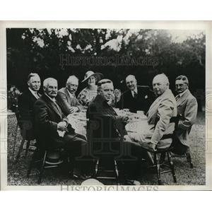 1932 Press Photo Inter Parliamentary Conference Canada & England