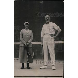 1921 Press Photo Sir Auckland Geddes British Amb to US in Wash DC & Lady Geddes