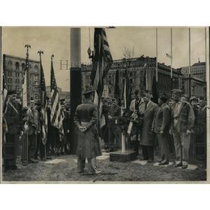 1945 Press Photo Pres. G.D Roosevelt Tribute