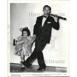 1941 Press Photo Bing Crosby & Mary Martin in Birth of the Blues