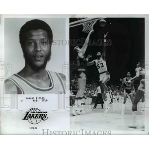 1978 Press Photo Los Angeles Lakers Forward Jamaal Wilkes
