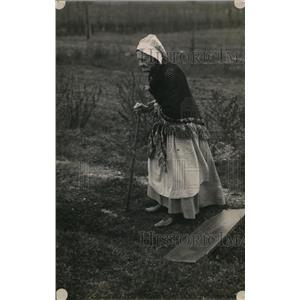 1918 Press Photo Mrs Rachel Edwards Oberlin Ohio